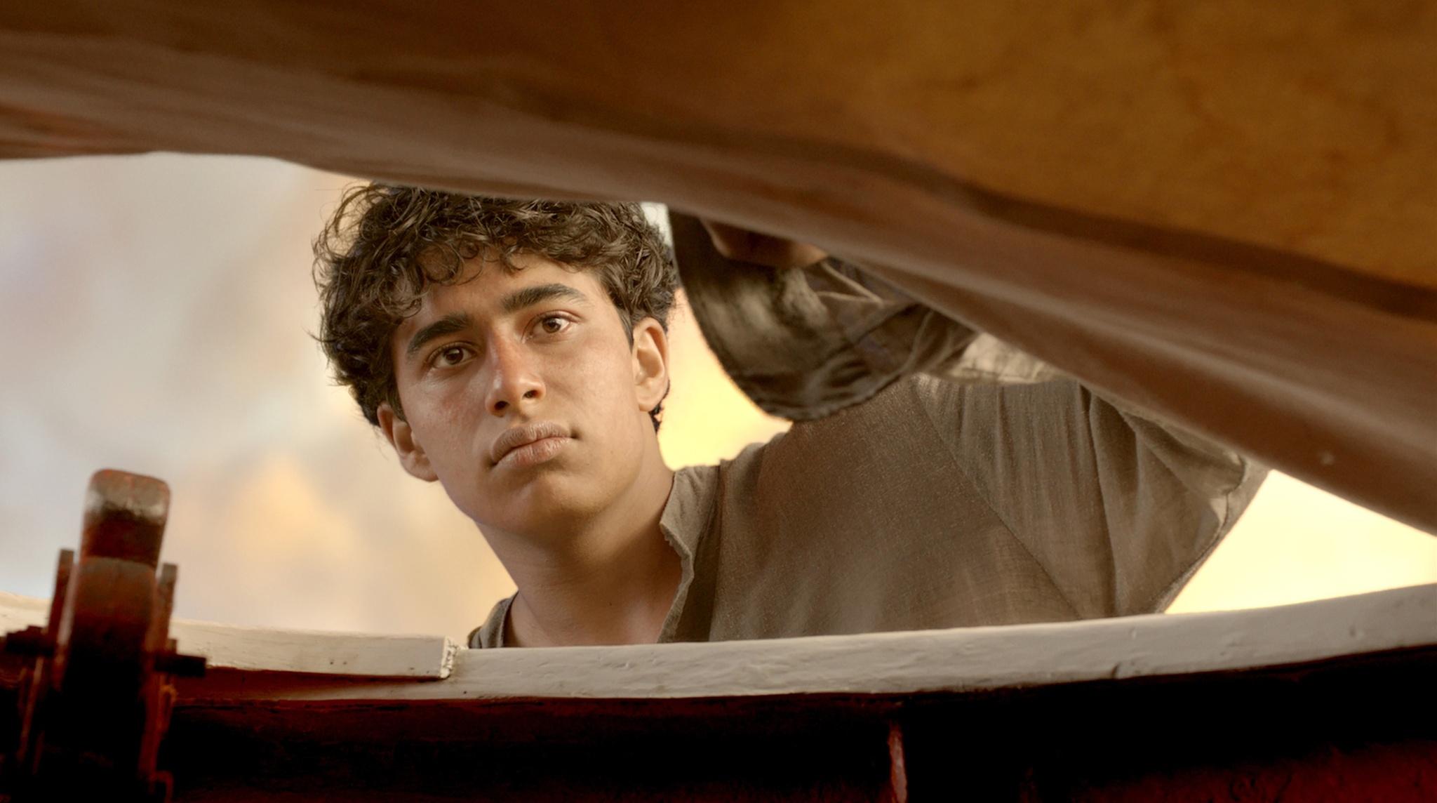 Suraj Sharma i Berättelsen om Pi