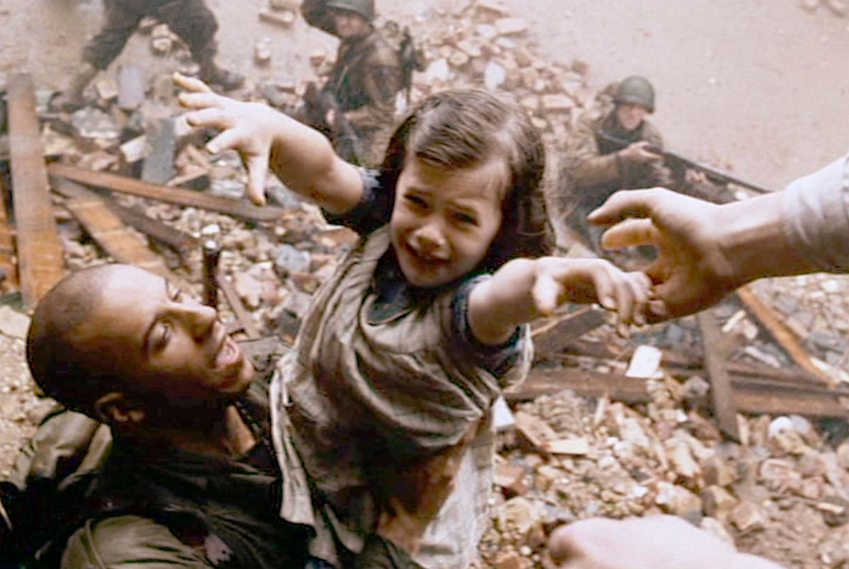 I Rädda menige Ryan får Vin Diesel skina i ett par scener. Foto: Paramount Pictures.