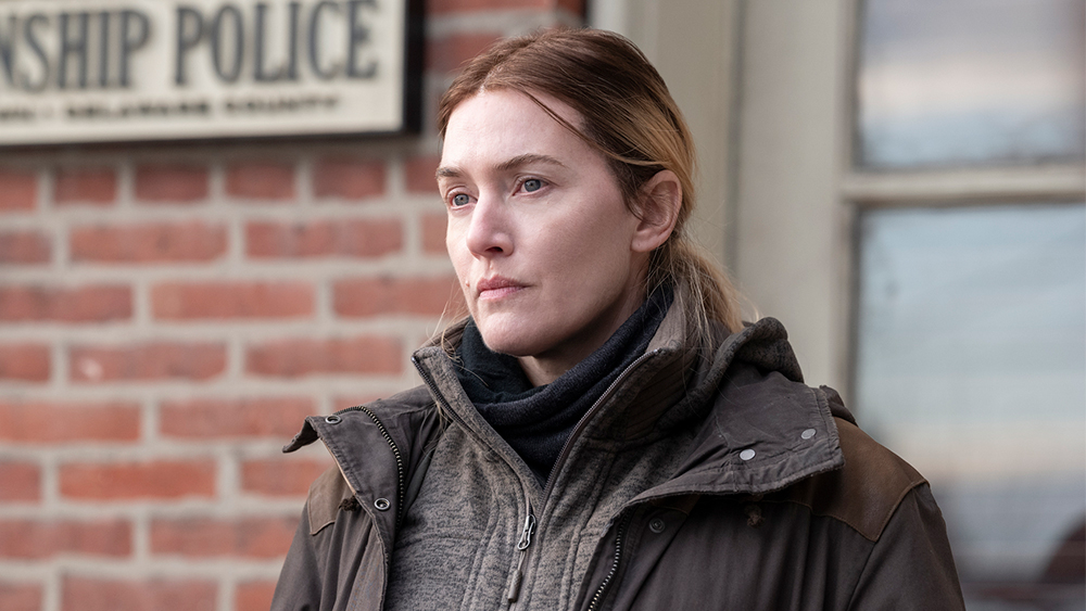 "Kate Winslet prisades för sin insats i ""Mare of Easttown"". Foto: HBO."