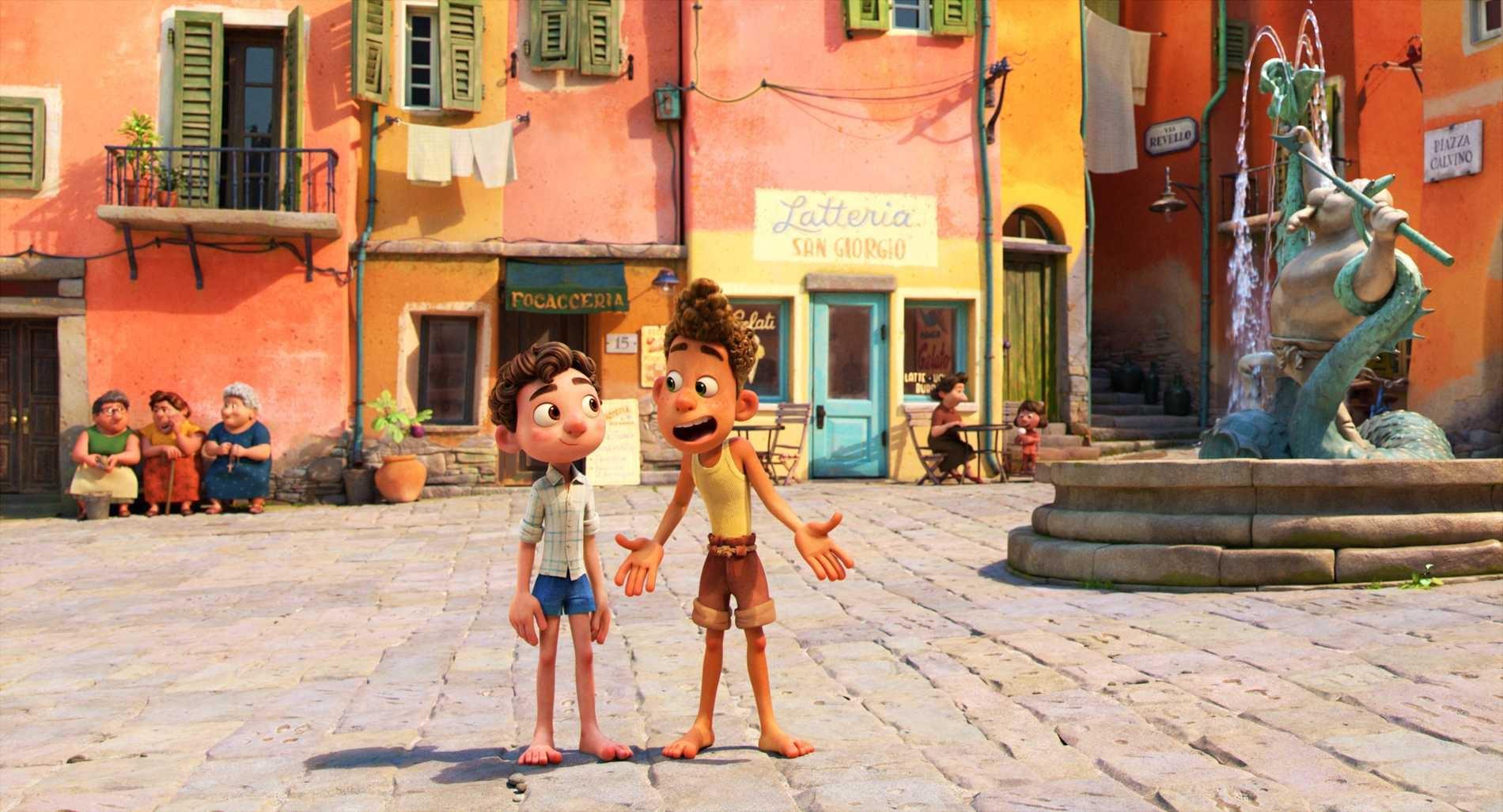 Luca är en av nya filmer att streama