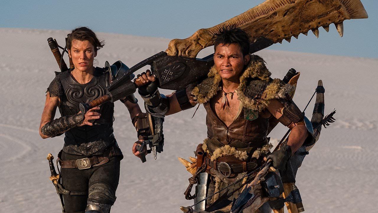 Film av Resident Evil-regissören Paul W.S. Anderson med hans vapendragare Milla Jovovich.