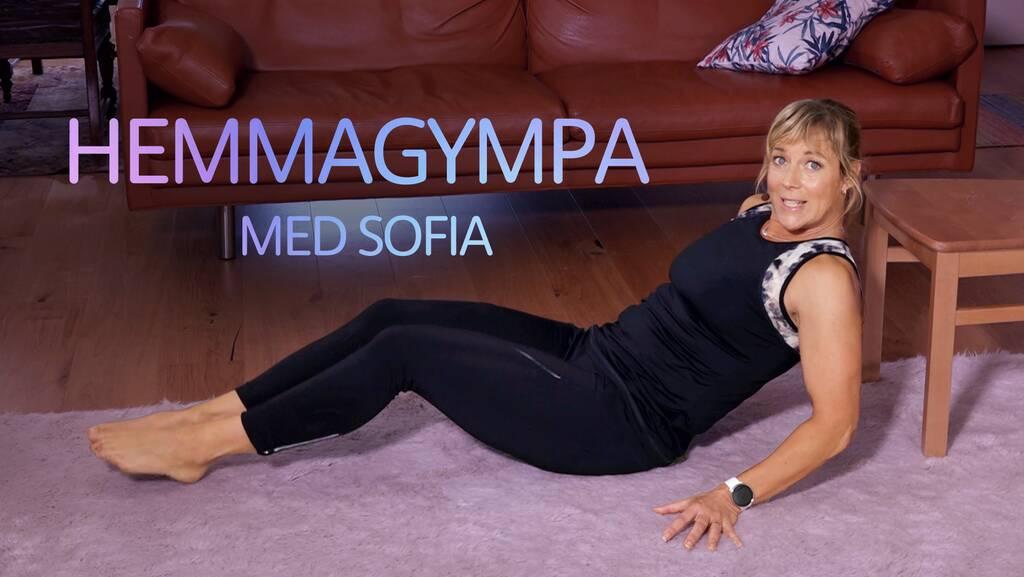 Träningsprogram: Hemmagympa med Sofia.