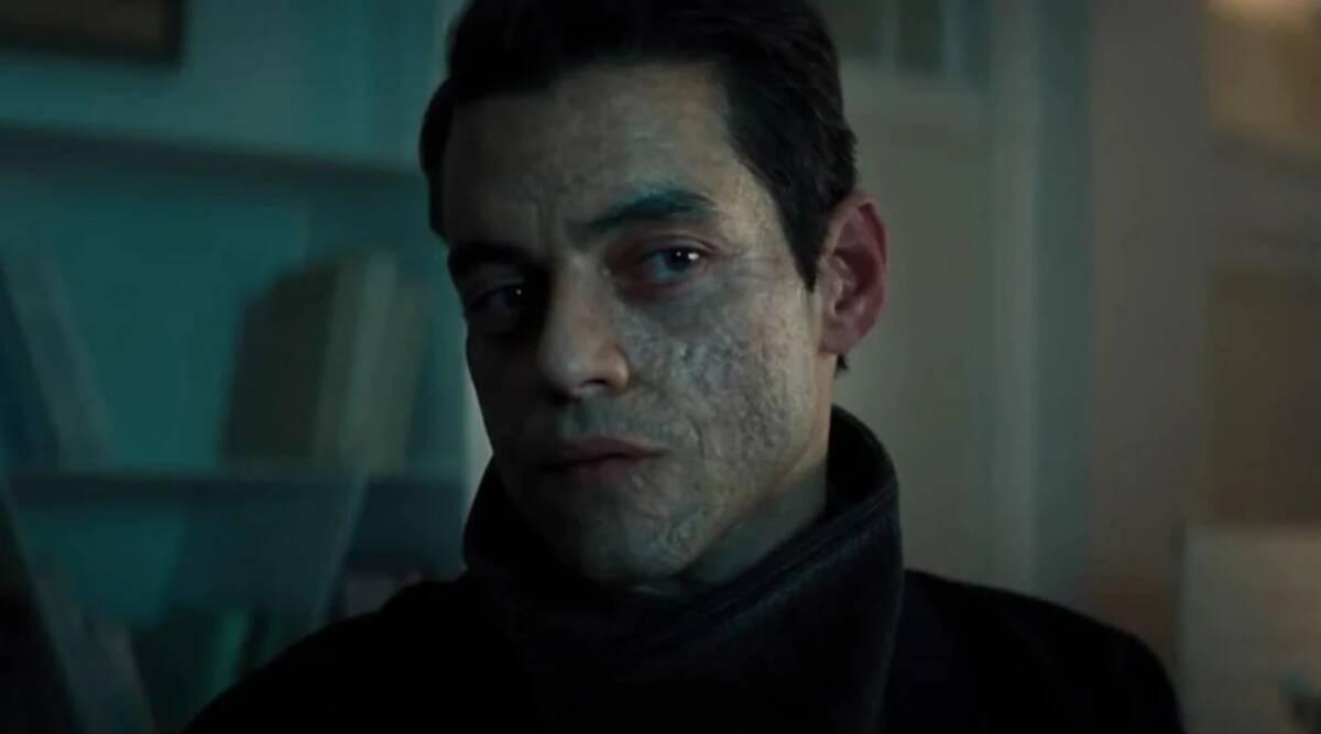Rami Malek som skurken Safin i No Time to Die. Foto: Universal Pictures.