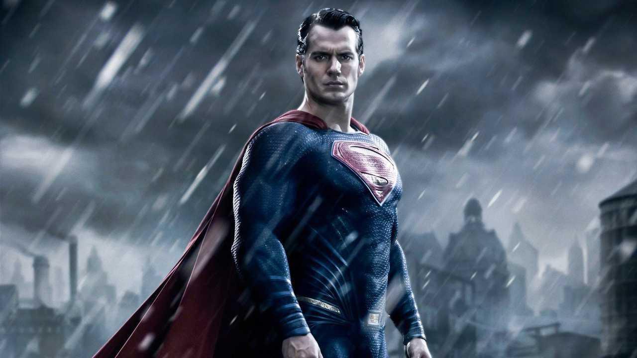 """Henry Cavill i """"Batman V Superman: Dawn of Justice""""."""