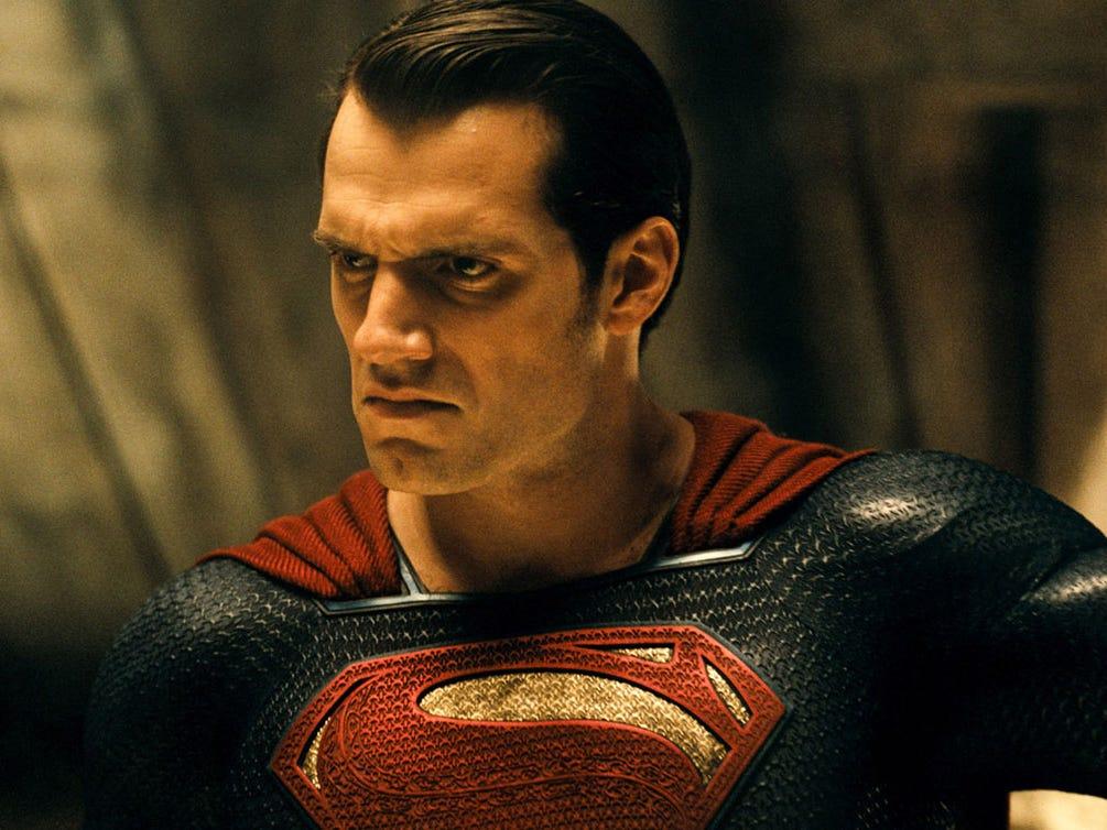 Henry Cavill som Superman. Foto: Warner Bros.