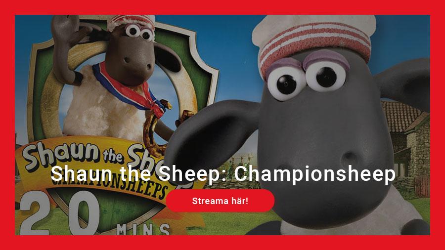 Streama Shaun the Sheep